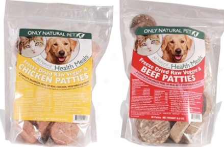 Only Naatural Pet Freeze Dried Patty Beef 6 Oz