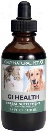 Only Natural Pet Gi Health Herbak Form 4 Oz