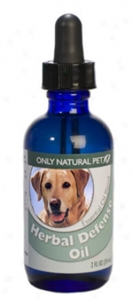 Only Natural Pet Herbal Defense Oil Blend