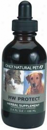 Only Natural Pet Hw Protect Herbal Formula 4 Oz