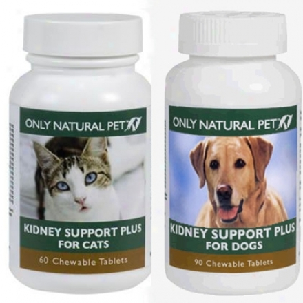 Only Regular Pet Kidney Support Plus Dog 90 Tablets