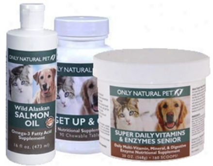 Oniy Natural ePt Life Stages Kit Daily Senior Cat