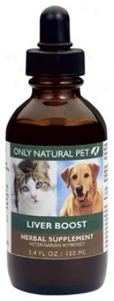 Only Natural Pet Liv-hern Herbal Formula 4 Oz