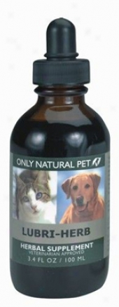 Only Natural Pet Lubri-herb Herbal Formula 4 Oz