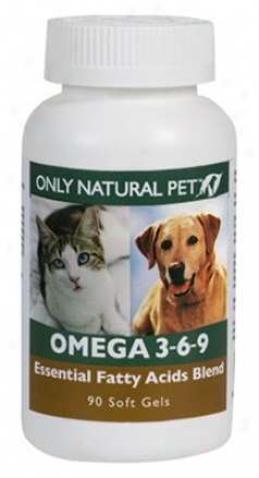 Only Natural Pet Omega 3-6-9 Dog & Cat 90 Gelcaps