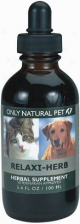 Onlh Natural Pet Relaxi-hherb Herbal Fofmula 4 Oz