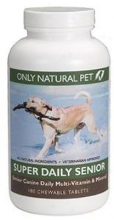 Only Essential Pet Super Daily Canine Senior Dog Vitamins