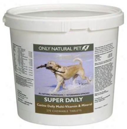 Sole Natural Pet Super Daily Canine Vitamin 270 Tablets
