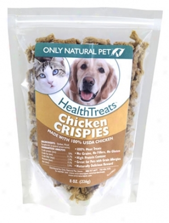 Only Natural Pet Turkey Crispies 8 Oz 3 Pack