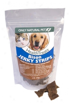 Only Natural Pet Venison Jerky Bites 4 Oz 6 Pack