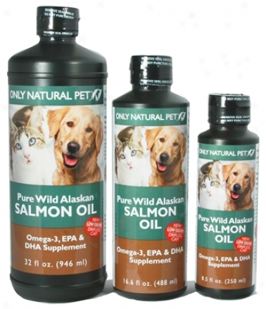 Only Natural Pet Wild Alaskan Salmon Oil 32 Oz