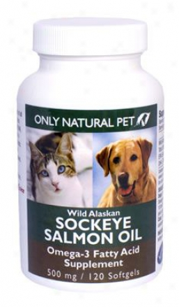 Only Nwtural Pet Wild Alaskan Salmon Oil Gelcaps