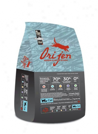 Orijen Grain-free 6 Fresh Fish Dry Cat Food 5.5 Lbs