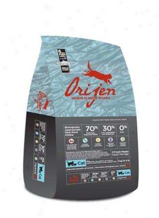 Orijen Grain-free 6 Fresh Fish Dry Cat Food 5.5 Lbs