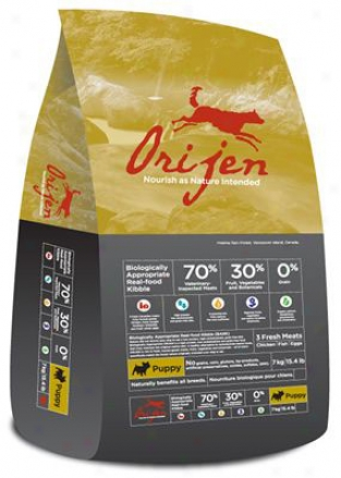Orijen Grain-free Puppy Dry Dog Aliment 29.7 Lbs