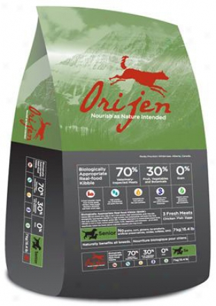 Orijen Grain-free Senior Dry Dog Food 15.4 Lbs