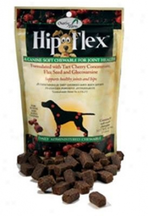 Overby Farm Hip Flex Cherry Dog Supplement 60 Soft Chew