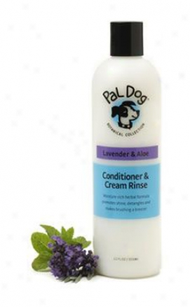 Pal Dog Conditioner & Cream Rinse Lavender & Aloe