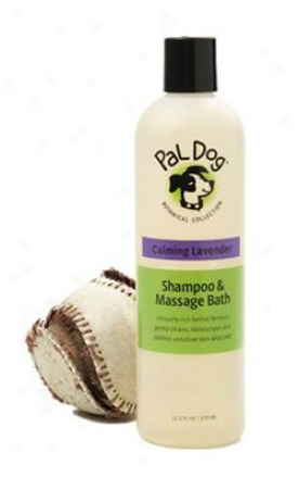 Pal Dog Shampoo & Massage Bwth Calming Lavender 12.5 Oz