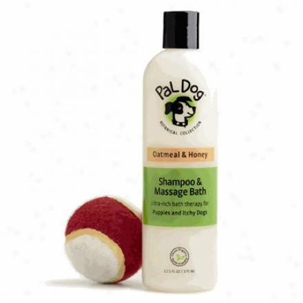 Pal Dog Sjampoo & Massage Bath Oatmeal & Honey