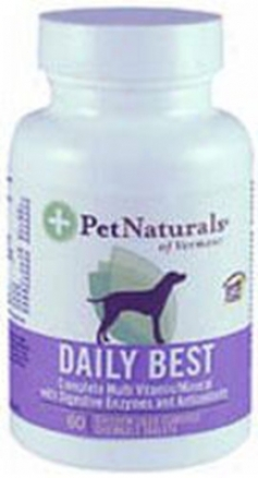 Pet Natufals Daily Best Dog Multi-vitamin 180 Tablets