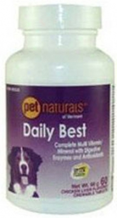 Pet Nsturals Of Vermont Dog Daily Motion 60 Tablets