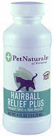 Pet Naturals Of Vermont Hairball Relief Plus 4 Oz