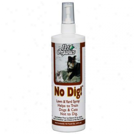 Pet Organics No Dig Because of Cats And Dogs 16 Oz.