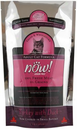 Petcurean Now! Adult Dry Cat Food 10 Lbs