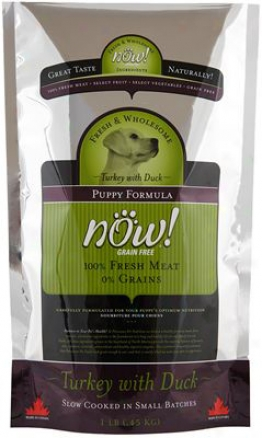 Petcurean Now! Puopy Dry Dog Food 25 Lbs