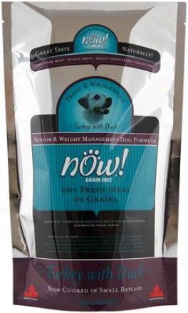 Petcurean Now! Senior Dry Dog Food 25 Lbs
