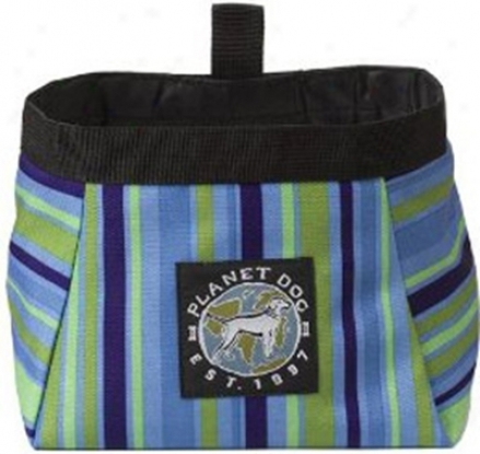 Planet Dog Journeying Bowls Blue Stripe Small