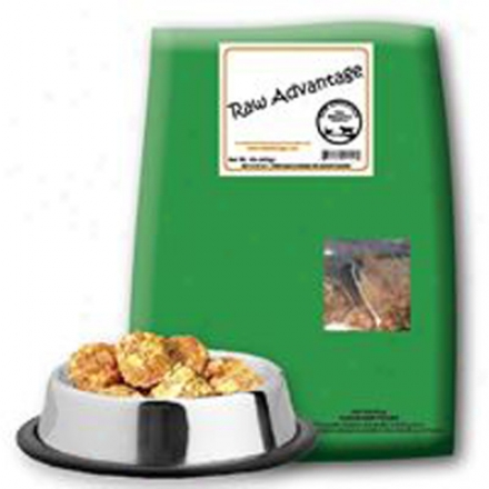Unmanufactured Advantage Organic Dinner Raw Cat Turkey Chunk 1 Lb
