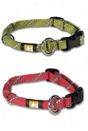 Ruff Wear Knot-a-just Dog Collars Medium Blie (ss)