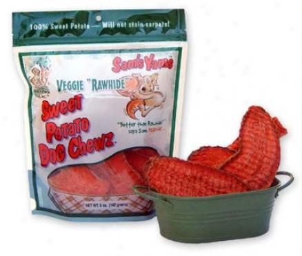 Sam's Yams Veggie Rawhide 5 Oz 6 Pack