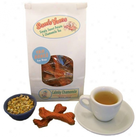 Sam?s Yams Yam Bones Dog Clamly Chamomile 8 Oz