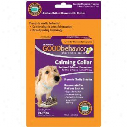 Sentry Hc Good Behavior Pheromone Collar For Dogs