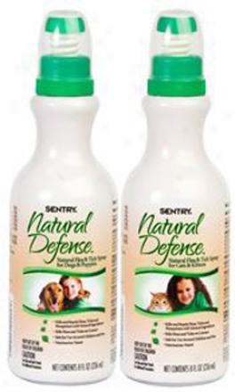 Sentry Natural Defense Flea & Tick Spray Dog 8 Oz