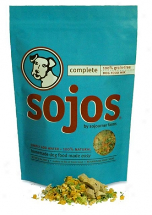 Sojos Complete Grain-free Dog Food Turkey 2 Lbs