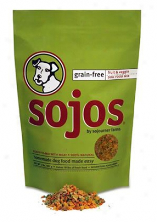 Sojos Grain-free Dog Food Mix 8 Lbs