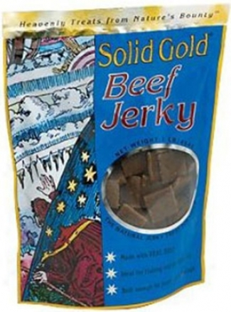 Solid Gold Jerky Dog Treat Lamb 10 Oz