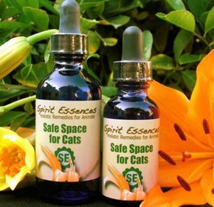 Spirit Essences Safe Space Cat 1 Oz