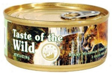 Taste Of The Wild Rocky Mountain Can Cat 3 Oz Cass 24