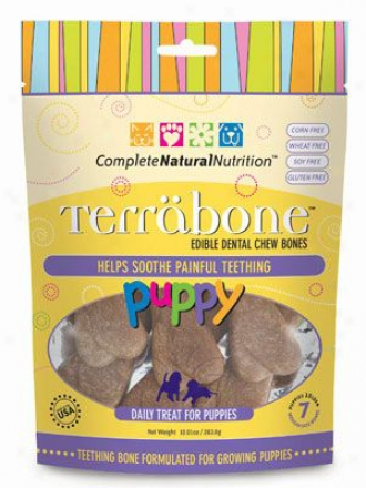 Terrabone Dog Treat Puppy Small Value Pack 8 Oz