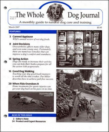 The Whole Dog Journal Subscription