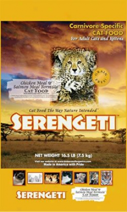 Timberwolf Serengeti Grain-free Dry Cat Food 16 Lbs