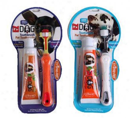 Treble Pet Ezdog Dental Kit For Large Breed Dogs