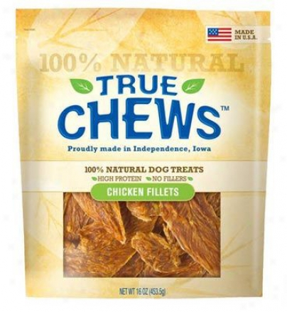 True Chews 100% Natural Dog Treat Chicken 8 Oz