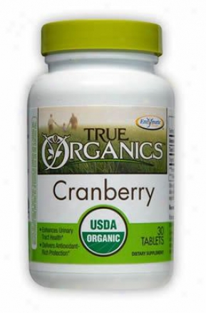 True Organics Cranberry Dog Supplement