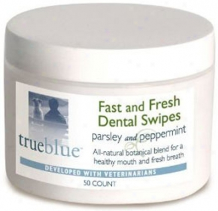 Trueblue Fast & Fresh Dental Swipes